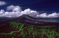 Batur volcano on Bali island (wufgaeng) Tags: bali indonesia volcano batur newscanneddiapositives beautifulbali