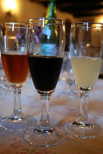 3 Calabrian digestivi - amaro del capo, liquirizia, and cedrata