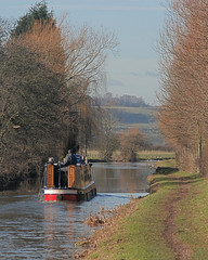 Heading to Dunstall (c-a-vu) Tags: bridge narrowboat tamworth coventrycanal dunstall
