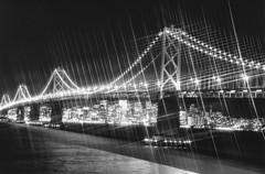 Bay Bridge - San Francisco Ca. (Keith Lovelady's Photography) Tags: bridge bw blackwhite minolta cities maxxum7d 7d baybridge konica bandw km maxxum bwphoto konicaminolta sanfranciscobaybridge blackandwhitephoto oaklandbaybridge blackandwhitephotograph km7d bwphotograph blackwhitephotograph konicaminoltamaxxum7d flickrelite blackwhitesepiaphotofanatics kmm7d kmmaxxum7d