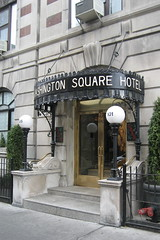 NYC - Greenwich Village: Washington Square Hotel by wallyg, on Flickr