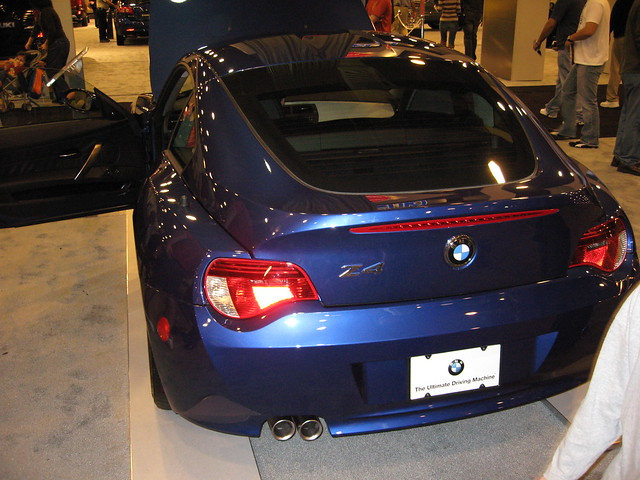 houston autoshow bmw z4 2007