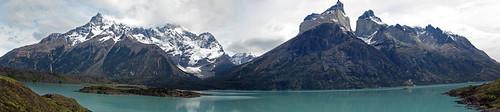 Panorama from Mirador Los Cuernos