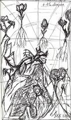 minstrelbard and Dragon sketch