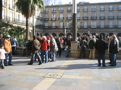 Domingo en la plaza nueva