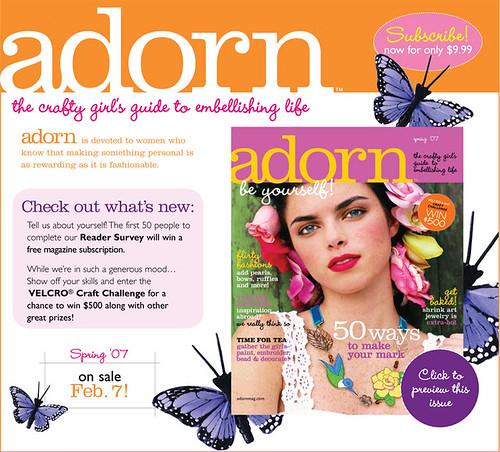Adorn Spring 2007