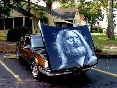 Portrait of Jerry Garcia - Explore 03 February 2007 #357