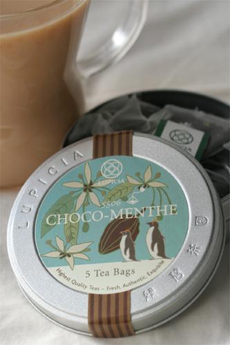 chololate mint tea