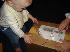 I got a box!