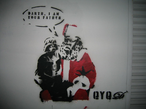 Santa Clause Darth I am your father