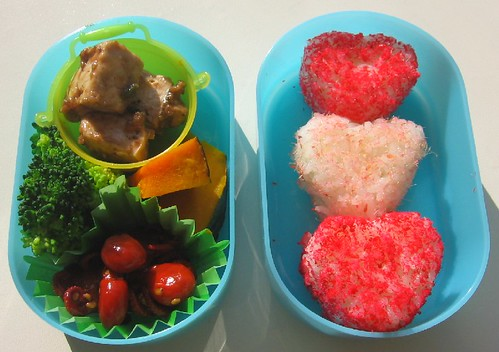 Speedy onigiri lunch for toddler お弁当