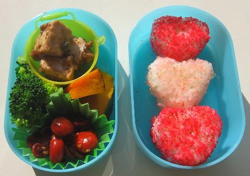 Speedy onigiri lunch for toddler お弁当