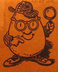 Kroger's egg detective
