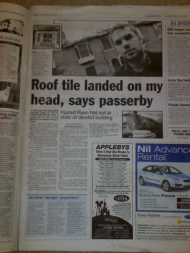 Lincolnshire Echo - 22nd Feb 2007 - Page 7