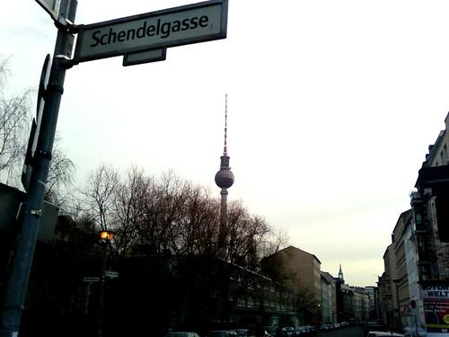 Berlin Fernsehturm.
