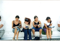 Leggendo (sarucola) Tags: girls friends reading book books libri greece leggendo grecia ragazze