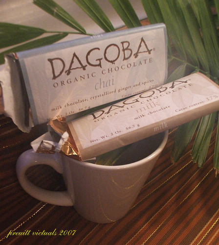 dagoba chai flavored chocolate