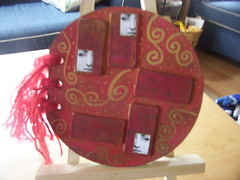 Altered Round Book front