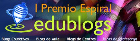 I Premio Edublogs de la Asociación Espiral