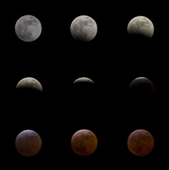 Lunar Eclipse - Mar 2007 (Ben Pearey) Tags: uk moon march eclipse chester northeast lunar 2007 thesolarsystem bppnight