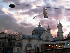 Turkcell :) (derya_t) Tags: church turkey europe trkiye istanbul trkei stanbul taksim beyoglu turchia beyolu turkcell stantuan fotografkraathanesi turchiatrkiye