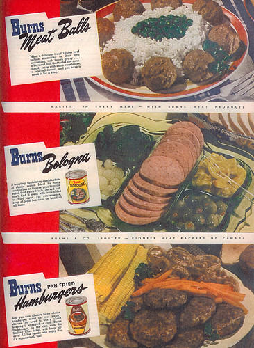 Vintage Ad #188 - Canned Meat Trio