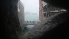 從嘆息橋往外看