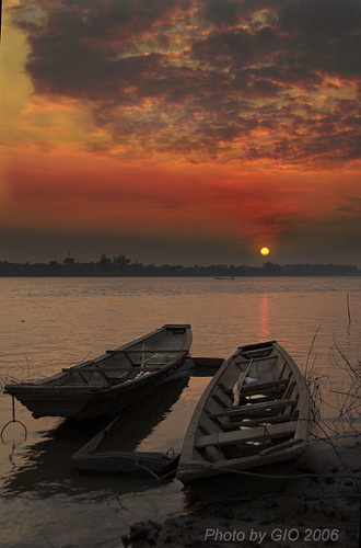 Mekong - sunset 001