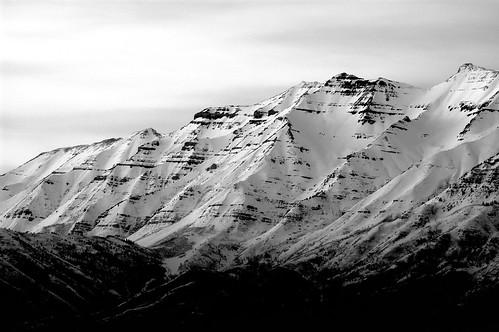 Mount Timpanogos (B&W) - 03/06/07