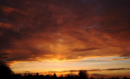 verpasster Sonnenuntergang