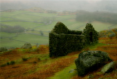Mystique of the Hills (M-J Turner) Tags: england orange green misty softness lakedistrict eerie cumbria mystical mystique eskdale mattjames peathut