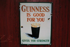 Guinness is good for you (AzyxA) Tags: beer sign funny guinness cbc strength goodforyou foursquare:venue=6658