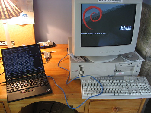 Debian net boot