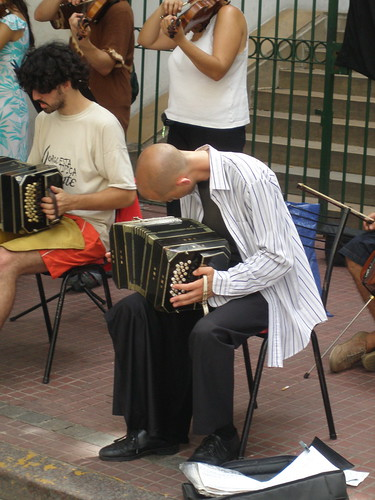 Bandoneón Player