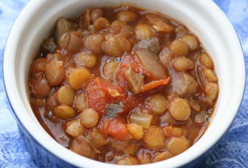 Lentil Taco Soup