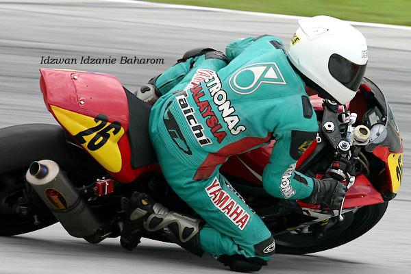 Motos en el circuito de Sepang, Malasia