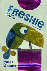 Freshie Instant Drink Mix (Neato Coolville) Tags: packet freshie drinkmix