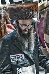 PROTESTS468 (Glenn Losack, M.D.) Tags: protests judaism zionists hasidim nyc photojournalism
