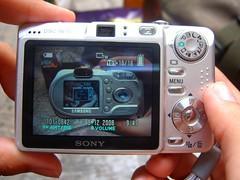 La fotografía de la cámara