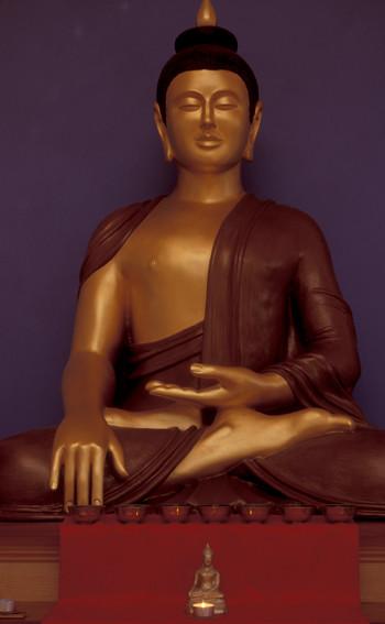 Garden Shrine Room Buddha Rupa 2