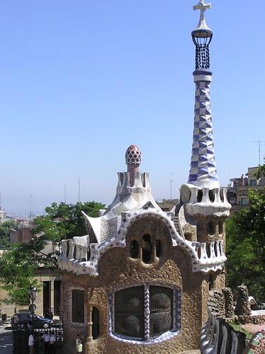 Barcelona - Parc Guell Weird House