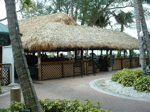 Tropical Bar on the beach - Naples, Florida