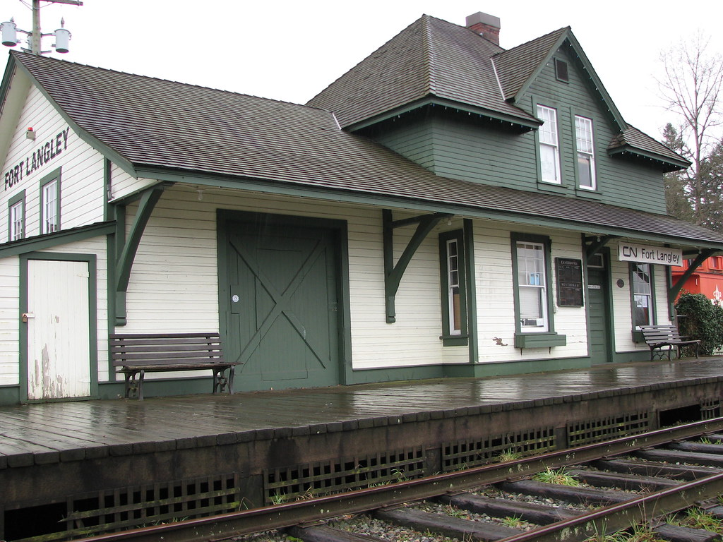 Langley Station - 1915