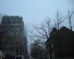 The Fog on Walnut Street (podolux) Tags: morning mist philadelphia fog buildings pennsylvania pa philly mycity phila cityofbrotherlylove cityofphiladelphia