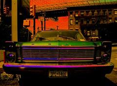 retro car (alternativefocus) Tags: nyc newyork ford dumbo retro alternativefocus