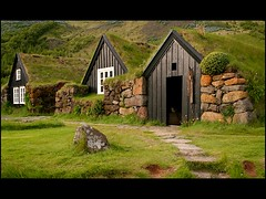 As we lived in Iceland. (GoodMoon) Tags: old houses summer history home architecture living iceland farming farms skogar abigfave impressedbeauty goodmoon