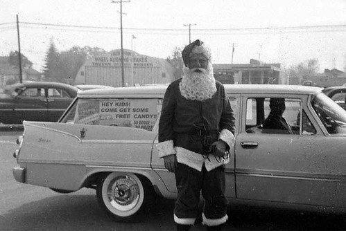 Scary Santa.