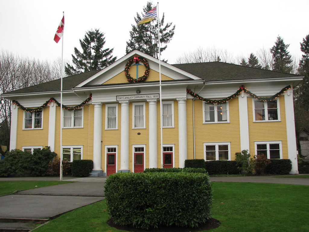 Fort Langley Community Hall - 1931