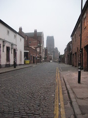 Pilgrim Street (Radarsmum67) Tags: christmas street xmas architecture liverpool buildings sandstone cathedral cobbles anglican pilgrim