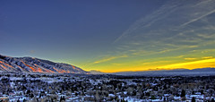 Cache Valley Sunset (James Neeley) Tags: sunset utah nikon logan hdr photomatix 10faves 1on1naturephotooftheday